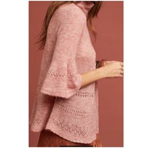 Anthropologie New Whitby Turtleneck Sweater Small
